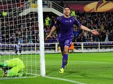 Mario Gomez könnte nächste Saison für den AS Rom knipsen
