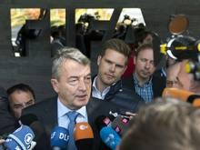 Niersbach will sich nicht bei der FIFA ins Spiel bringen
