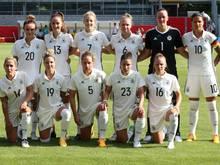 Die DFB-Frauen haben ihr EM-Quartier bezogen