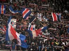 Keine Auswärtsfans beim Spiel von Paris in Marseille