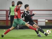 Gomez (r.) trifft für Besiktas beim 1:1 in Moskau