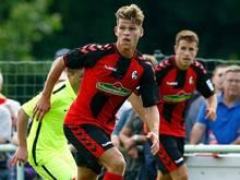 Florian Niederlechner erzielt vier Treffer für Freiburg