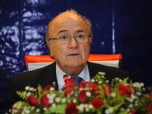 Der gesperrte FIFA-Präsident Joseph S. Blatter
