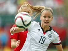 Lena Petermann fällt für das Spiel gegen Kroatien aus