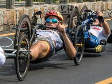 Gewinnt auch das Straßenrennen: Christiane Reppe
