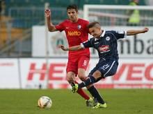 Amin Affane (r.) verlässt Bielefeld mit sofortiger Wirkung