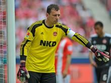 Raphael Schäfer steht vor der Rückkehr ins FCN-Tor