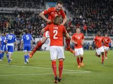 Schweiz qualifiziert sich zum vierten Mal für die EM