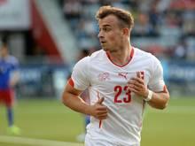 Xherdan Shaqiri steht vor einem Wechsel zu Stoke City