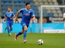 Nils Quaschner spielt künftig für Arminia Bielefeld