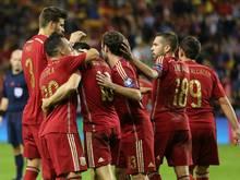 Spanien qualifiziert sich erwartungsgemäß für die EM