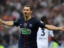 Zlatan Ibrahimović traf beim Cupsieg doppelt
