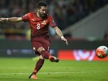 Moutinho trifft für Portugal gegen Dänemark