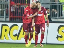 Brückner (l) und Sağlık (r) bleiben mit Lakić weiter suspendiert