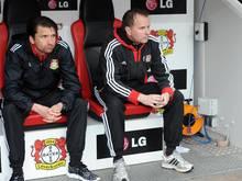 Peter Hyballa (l.) trainiert künftig Leverkusens U19