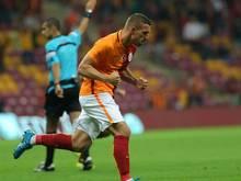Podolski erzielte den Führungstreffer für Galatasaray