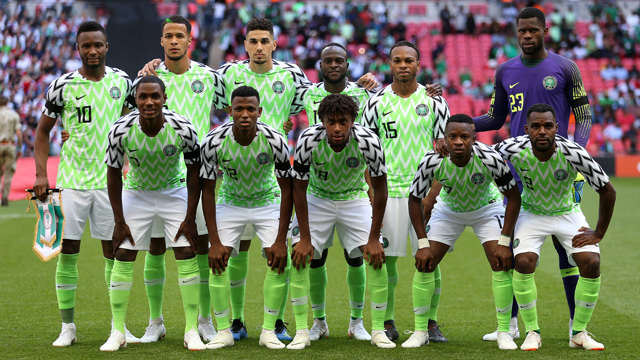 Nigerianische Fußballnationalmannschaft