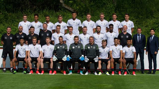deutsche u21 nationalmannschaft kader