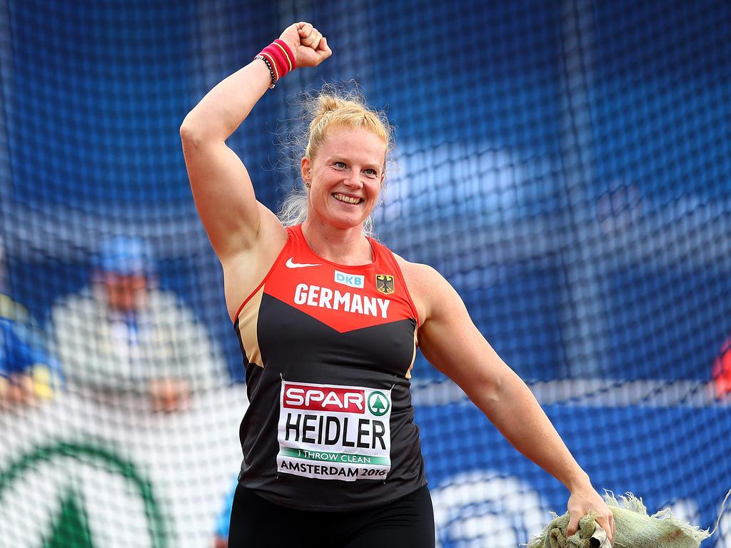 Betty Heidler Muskeln