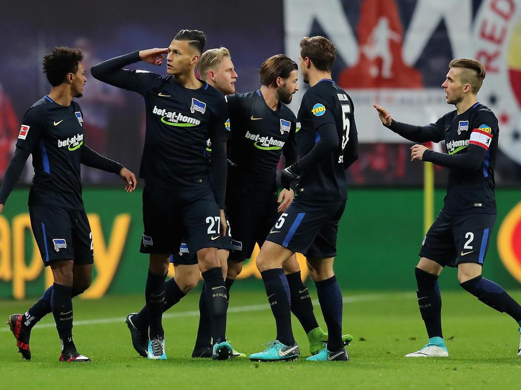 Hertha BSC erkämpft einen verdienten Sieg bei RB Leipzig