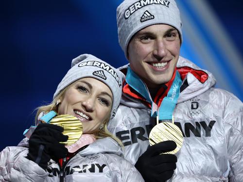 Sensationell! Im Februar gewinnen Aljona Savchenko und Bruno Massot in Pyeongchang die Olympische Goldmedaille
