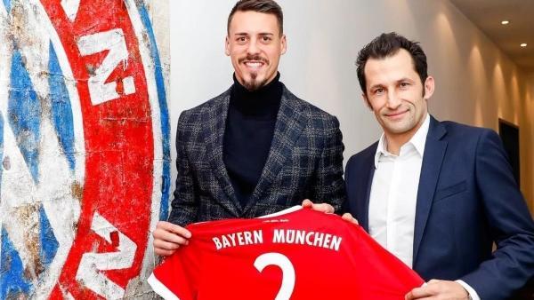 Sandro Wagner (l.) kehrte zum FC Bayern zurück