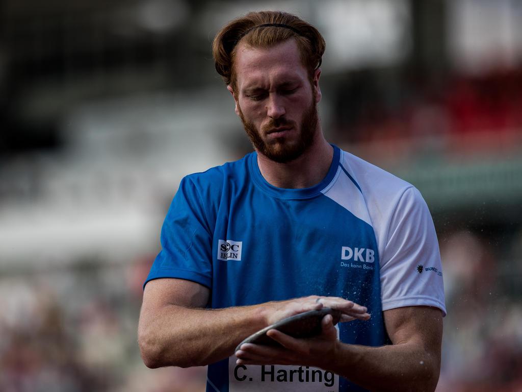 Christoph Harting war in einen Unfall verwickelt