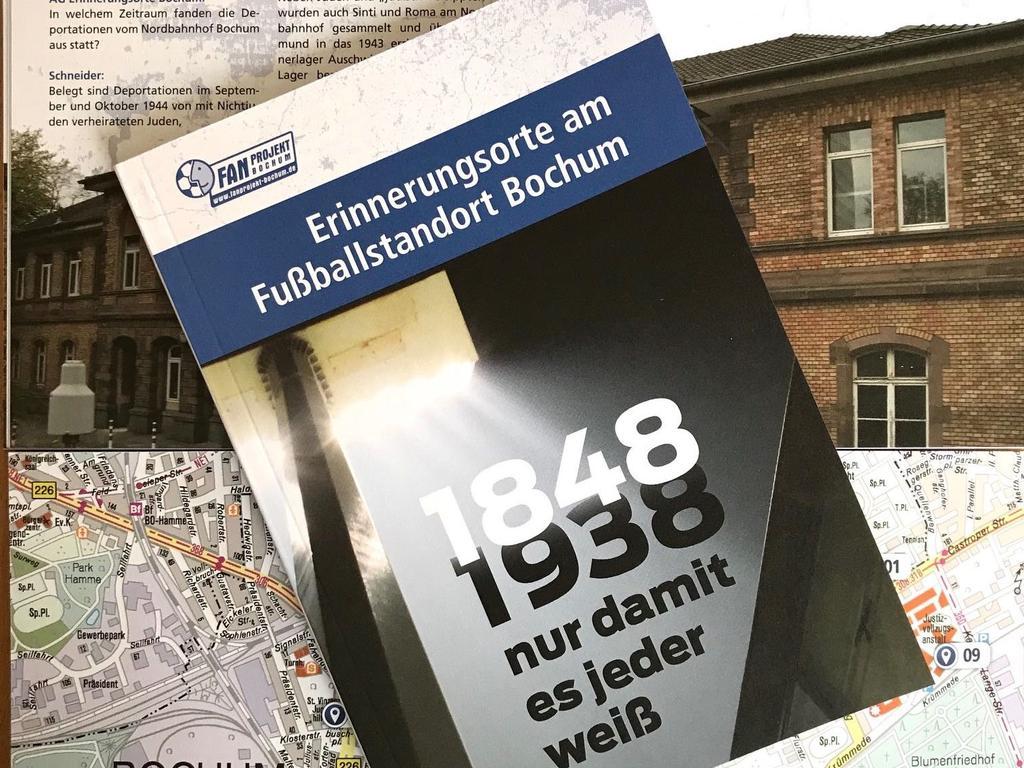 Diese Broschüre wurde unter VfL-Fans verteilt