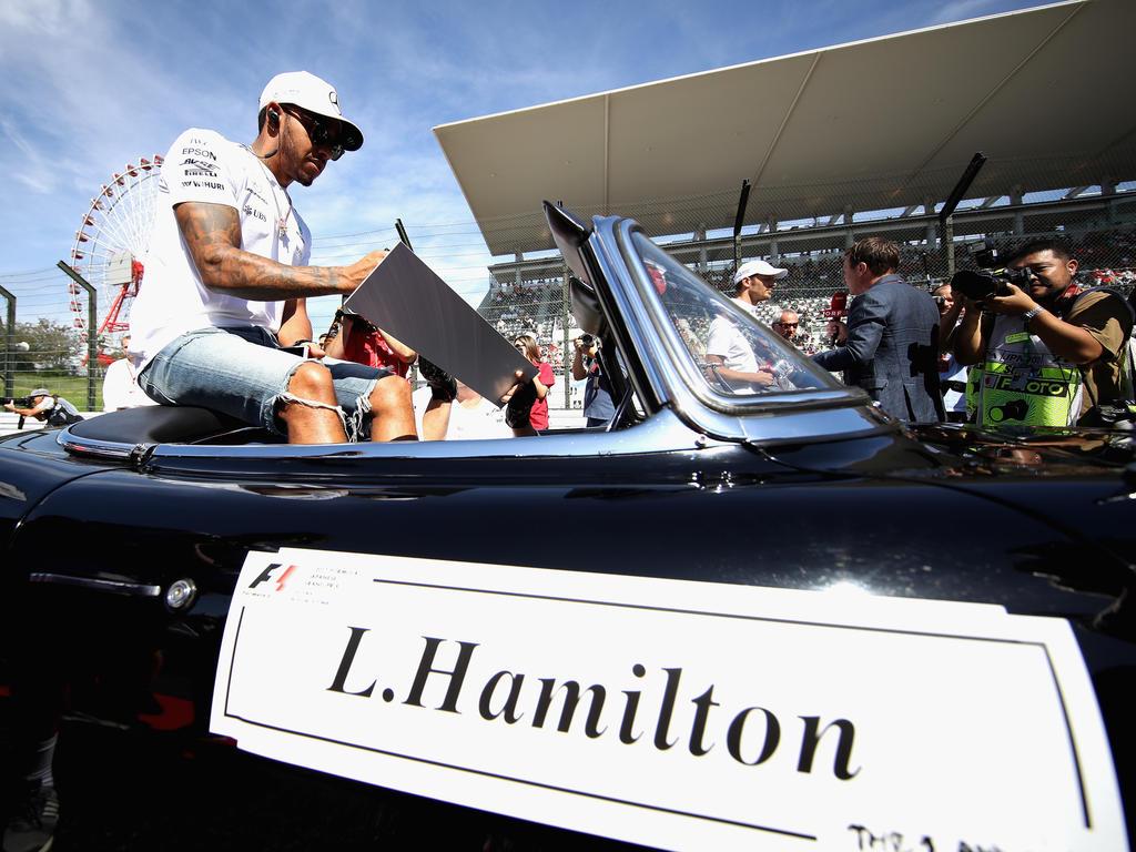 Ist Lewis Hamilton schon auf dem Olymp, auf dem Weg dorthin oder ganz woanders?