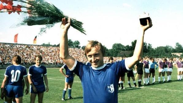 Von 1975 bis 1985 spielte Joachim Streich für den 1. FC Magdeburg