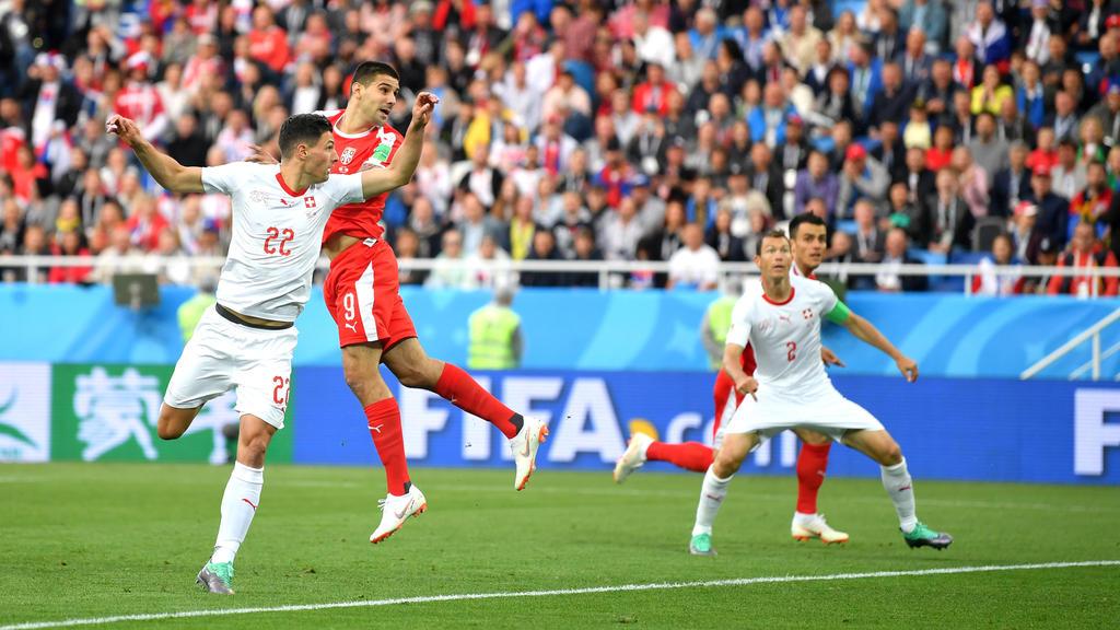 Aleksandar Mitrović sorgt für die frühe Führung